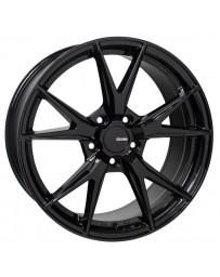 Enkei Phoenix 17x7.5 38mm Offset 5x114.3 72.6mm Bore Gloss Black Wheel