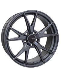 Enkei Phoenix 18x8 40mm Offset 5x108 72.6mm Bore Blue Gunmetal Wheel
