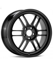 Enkei RPF1 17x8 5x114.3 45mm Offset 73mm Bore Matte Black Wheel 05-07 STI/06-10 Civic Si