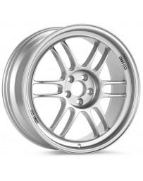 Enkei RPF1 15x7 4x100 41mm Offset 73mm Bore Silver Wheel Honda & Acura 4-Lug/02-06 Mini