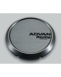 Advan Racing 73mm Flat Centercap - Hyper Black