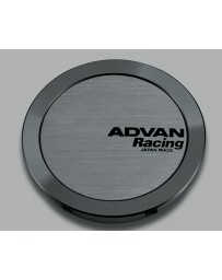 Advan Racing 73mm Full Flat Centercap - Hyper Black