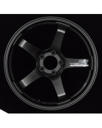 Advan Racing GT 20x12.0 +20 5-114.3 Semi Gloss Black Wheel