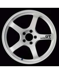 Advan Racing GT 20x12.0 +20 5-114.3 Racing White Wheel