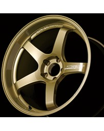 Advan Racing GT Premium Version 18x12.0 +47 5-130 Racing Gold Metallic Wheel