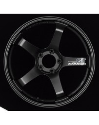 Advan Racing GT 20x10.5 +24 5-114.3 Semi Gloss Black Wheel