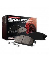 Toyota Supra GR A90 MK5 Power Stop Evolution Sport Performance Carbon-Fiber Ceramic Front Brake Pads