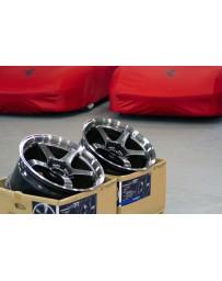 Advan Racing GT 18x11.0 +15 5-114.3 Machining & Racing Metal Black Wheel
