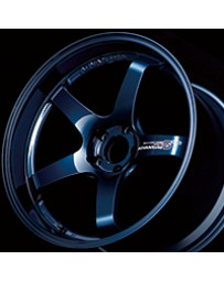 Advan Racing GT Premium Version 21x10.0 +35 5-114.3 Racing Titanium Blue Wheel