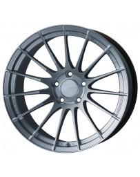 Enkei RS05-RR 18x10.5 25mm ET 5x114.3 75.0 Bore Sparkle Silver Wheel Evo X 350z Spcl Order/No Cancel
