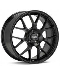 Enkei Raijin 18x8.5 45mm Offset 5x100 Bolt Pattern 72.6 Bore Diameter Black Wheel