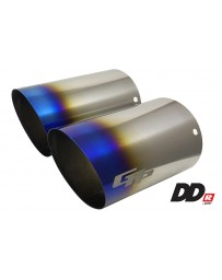 GReddy DD-R Burnt Titanium Tips L-175mm (Pair)