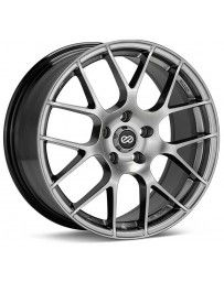 Enkei Raijin 18x8 45mm Offset 5x114.3 Bolt Pattern 72.6 Bore Dia Hyper Silver Wheel