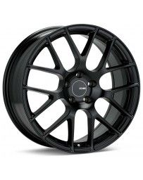 Enkei Raijin 18x10.5 25mm Offset 5x114.3 Bolt Pattern Black Wheel
