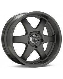 Enkei ST6 18 x 8.5 10mm Offset 6x139.7 Bolt Pattern 108.5 Bore Dia Matte Gunmetal Machined Wheel