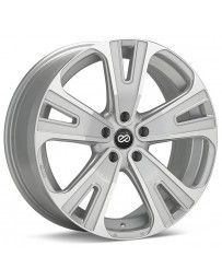 Enkei Universal SVX Truck & SUV 18x8 40mm Offset 5x114.3 Bolt 72.6mm Bore Silver Machined Wheel