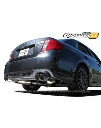 GReddy Evolution GT Catback Exhaust with 76mm Dual Muffler Subaru WRX STI 11-14