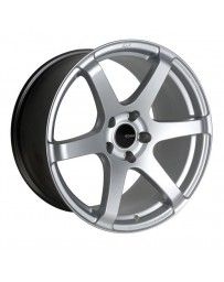 Enkei T6S 18x8 35mm Offset 5x112 Bolt Pattern 72.6 Bore Matte Silver Wheel