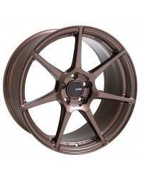 Enkei TFR 17x8 5x114.3 35mm Offset 72.6 Bore Diameter Copper Wheel