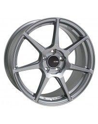 Enkei TFR 18x8 5x100 45mm Offset 72.6 Bore Diameter Storm Gray Wheel