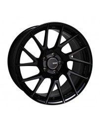 Enkei TM7 17x8 5x100 45mm Offset 72.60 Bore Black Wheel