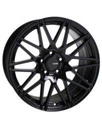 Enkei TMS 17x9.0 45mm Offset 5x100 Bolt Pattern 72.6mm Bore Gloss Black Wheel