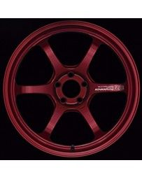 Advan Racing R6 20x9 +48mm 5-112 Racing Candy Red Wheel