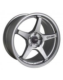 Enkei TS-5 18x8.5 5x108 40mm Offset 72.6mm Bore Storm Grey Wheel