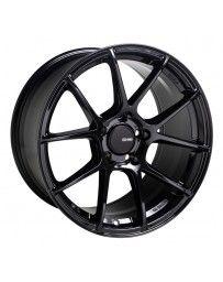 Enkei TS-V 18x8.5 5x100 45mm Offset 72.6mm Bore Glass Black Wheel