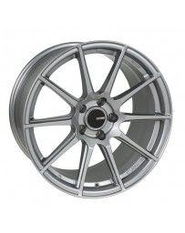 Enkei TS10 17x8 4x100 40mm Offset 72.6mm Bore Grey Wheel