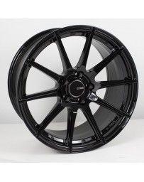 Enkei TS10 17x8 5x100 45mm Offset 72.6mm Bore Black Wheel