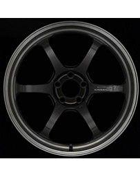 Advan Racing R6 20x10 +45mm 5-114.3 Machining & Black Coating Graphite Wheel