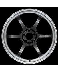 Advan Racing R6 20x10.5 +24mm 5-114.3 Machining & Racing Hyper Black Wheel