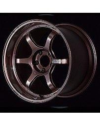 Advan Racing R6 18x7.5 +47 5-114.3 Racing Copper Bronze Wheel