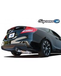 GReddy Supreme SP Stainless Steel Catback Exhaust System Honda Civic Si Coupe K20 12-15