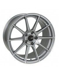 Enkei TS10 18x8.5 5x114.3 35mm Offset 72.6mm Bore Grey Wheel