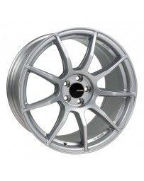 Enkei TS9 17x9 5x100 45mm offset 72.6mm Bore Platinum Grey