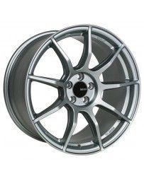 Enkei TS9 18x8.5 5x114.3 50mm Offset 72.6mm Bore Platinum Grey