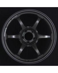 Advan Racing RG-D2 18x10.5 +24 5-120 Semi Gloss Black Wheel