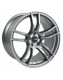 Enkei TX5 17x8 5x114.3 45mm Offset 72.6mm Bore Platinum Grey