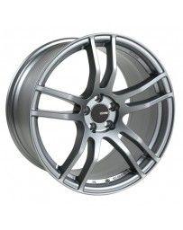 Enkei TX5 17x9 5x114.3 45mm Offset 72.6mm Bore Platinum Grey