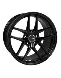 Enkei TY5 18x8 5x100 45mm Offset 72.6mm Bore Black Wheel