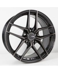 Enkei TY5 18x8.5 5x114.3 25mm Offset 72.6mm Bore Pearl Black Wheel