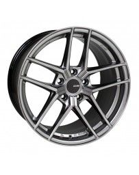 Enkei TY5 18x9.5 5x114.3 15mm Offset 72.6mm Bore Hyper Silver Wheel