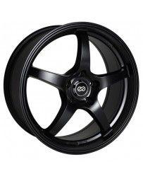Enkei VR5 18x8 42mm Offset 5x120 Bolt Pattern 72.6 Bore Dia Matte Black Wheel