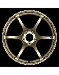 Advan Racing RGIII 18x10.5 +25 5-114.3 Racing Gold Metallic Wheel