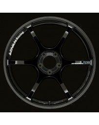 Advan Racing RGIII 18x9.5 +45 5-114.3 Racing Gloss Black Wheel