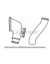 GReddy Aluminum Piping Kit (G) Mazda RX7 1993-96