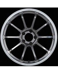 Advan Racing RS-DF Progressive 19x9.0 +25 5-120 Machining & Racing Hyper Black Wheel