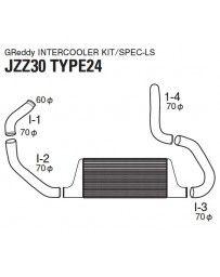 GReddy Type-24F Intercooler Kit Lexus SC300 / Toyota Soarer 2.5L 1992-2000